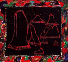 Pierre Alechinsky - WikiPaintings.org Abstract Expressionism, Abstract Art, Modern Art, Contemporary Art, Art Informel, Art Pierre, Tachisme, New Media Art, Visual Aids