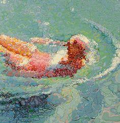 I quadri fatti con le gocce di Matthew Davis