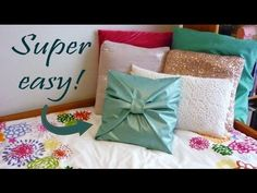 No-sew DIY that is cute and affordable! | Sewing diy Pillows and Craft & No-sew DIY that is cute and affordable! | Sewing diy Pillows and ... pillowsntoast.com