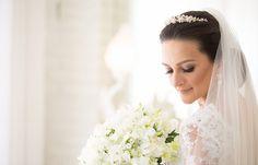 Buquê de flores brancas - Decoração romântica
