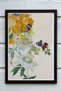 Powerful Flowers print