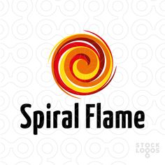 Logo shows an abstract spiral shape. Logo can be used for various businesses, such as for example: application developer, art studio, arts store, beauty products, charity, chiropractic center, clothing store, coaching, communication, cosmetic line, counselling, creative services, dance studio, digital media, entertainment, event planner, home & interior decor, marketing, media firm, personal growth, photography, printing & publishing, restaurant, spa, therapist, yoga and many more.