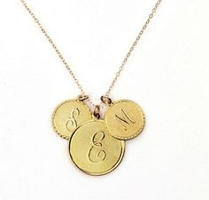 Moon and Lola Initial Necklace: will be getting this with my boys' (husband and son) initials - CJB - on it.
