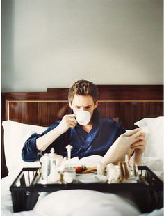English actor Eddie Redmayne photographed by Tom Craig and styled by Dan May, for The Journal of Mr. Porter.