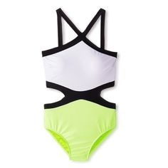 Color block cut out swimsuit Stylish colorblock swimsuit with molded cups, front open side cut outs and open center back. Brand new with tags never worn! 80%nylon 20%spandex Envya Swim One Pieces