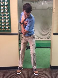 How A Doorframe Can Help Your Golf Swing - Golf Digest
