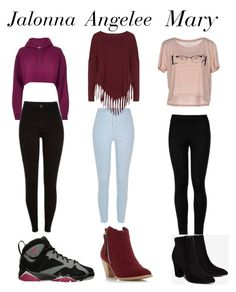 """""""Me and my besties in high school"""" by jalonnafreeman123 ❤ liked on Polyvore featuring River Island, Boris, Dorothy Perkins, ONLY, Wolford and Billini"""