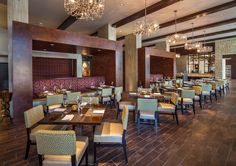 Our Carso Restaurant features flavorful Mediterranean dishes created by renowned Chef Anthony Bombaci. #anthonybombaci #chef #carsorestaurant #privatediningroom #rehearsaldinner #rehearsal #dinner #hiltongranitepark #hiltondpgp #hotel #dallas #plano #texas #wedding