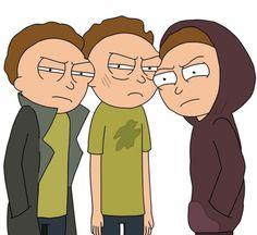 Rick and Morty • Gang of Morty's