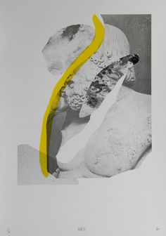 YES YES YES - Aureus A3 Riso print Limited edition of 30. Printed on 250gsm Corona recycled paper