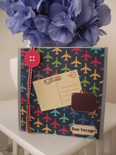 Bon Voyage Card by Bucket and Spade Designs
