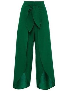Plain Irregularity Lace-Up Loose Women's Pants High Split Palazzo Pants with Tie Front Buy Women Wide Leg Chiffon Pants for great discount with best quality. Keira Fashions is Women's online fashion store. Loose Pants, Cropped Pants, Wide Leg Pants, Wide Legs, Trousers Women, Pants For Women, Clothes For Women, Women's Trousers, Palazzo Trousers