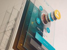 Nice #application design presentation. Attractive #mockup!   Pinned by 'Candeed'