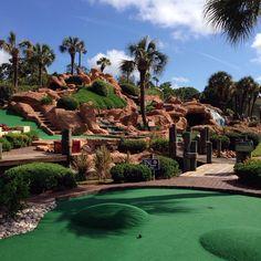 Top Myrtle Beach Attractions and Things to Do Myrtle Beach Things To Do, Myrtle Beach Attractions, Adventure Golf, Dubai Golf, Miniature Golf, Treasure Island, Beach Fun, Outdoor Fun, Beautiful Beaches