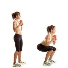 Squat frontale - Front squat