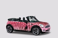 """""""The Blonds for Katy Perry"""" MINI gets a fierce leopard-print makeover for Life Ball 2009."""