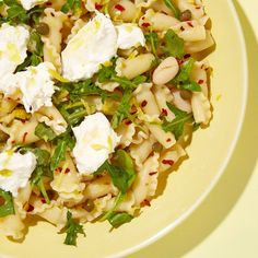 campanelle with white beans lemon and burrata campanelle with white ...