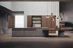 Rikken Architectuur Nijmegen Modern Kitchen Furniture, Kitchen Interior, Elle Decor, Divider, Interior Design, Room, News, Grande, Environment