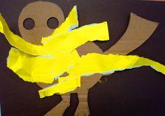 Papierowe ptaszydło. Terapia ręki na turnusie Turkota dla studentów SWPS.