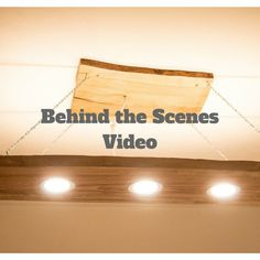 Behind the Scenes Video - we finished our Prototype! Wooden Ceilings, Behind The Scenes, Innovation, It Is Finished, Instagram, Wood Ceilings