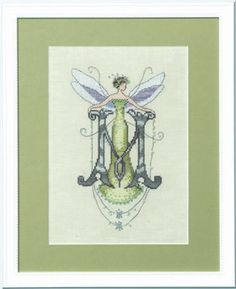 Letters From Nora - M - Cross Stitch Pattern