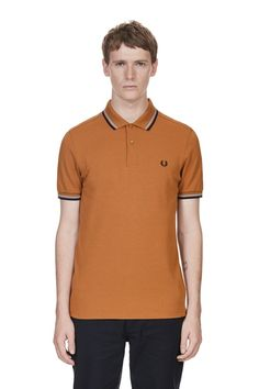 Fred perry mantel blau