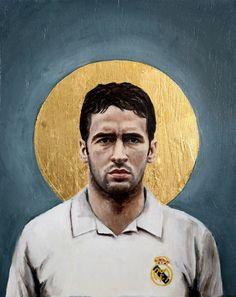 Raul of Real Madrid wallpaper.