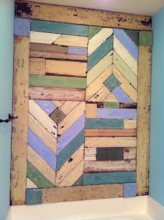Get Your Daily Snips....Snippet Girl talks Art and Animals: Reclaimed Wood Wall Project