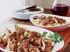 Italian Crab and Pasta