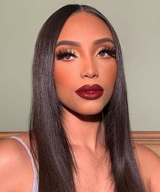 Na Beauty Official Store - Amazing prodcuts with exclusive discounts on AliExpress Dope Makeup, Baddie Makeup, Glam Makeup, Pretty Makeup, Beauty Makeup, Hair Makeup, Hair Beauty, Exotic Makeup, Makeup Geek