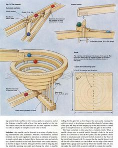 DIY Wooden Marble Run - Wooden Toy Plans