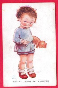 MABEL LUCIE ATTWELL card via eBay