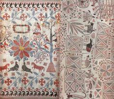 ベンガル地方の刺繍