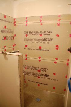 DIY Walk-In Shower: Step 3- Prep For Tile
