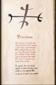 Precision,The Mortal Instruments