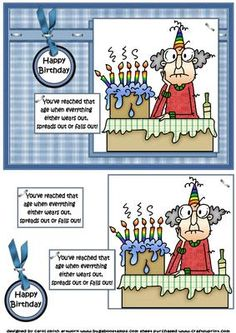Gus has reached that age quick card on Craftsuprint - Add To Basket!