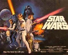 1977 Star Wars Original UK Film Poster