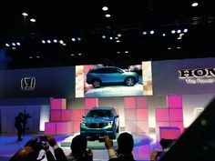 First thoughts on the 2016 Honda Pilot from the The Chicago Auto Show. What do you think of the new design? #CAS2015 @chiautoshow  http://blog.carsforsale.com/chicago-auto-show-first-look-2016-honda-pilot/