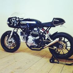 Ducati Cafe Racer #motorcycles #caferacer #motos   caferacerpasion.com