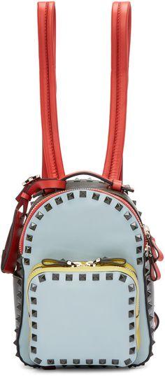 88b7692d9597b Valentino Multicolor Mini Rockstud Backpack. BestStyleGuide · Taschen