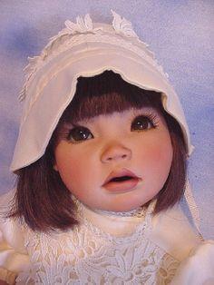 Elke Schmidt doll braelyn elke hutchens porcelain vinyl collectible dolls