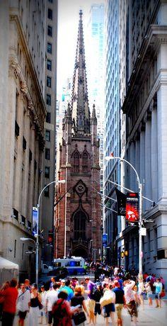 Wall Street, NYC New York CIty