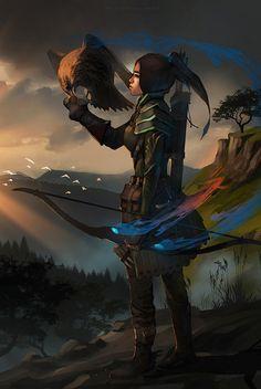 hunter by sheer-madness on DeviantArt