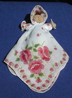 hankerchief dolls | Cab Creek Crafts design your own doll