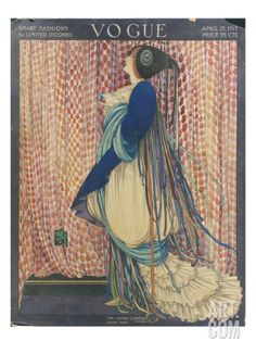 Vogue - March 1915 Regular Giclee Print by George Wolfe Plank at Art.com