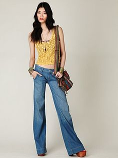 Love these jeans and bangles.