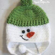 first-snowman-hat