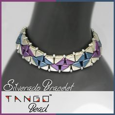 Silverado Bracelet, using the Tango bead, available below: