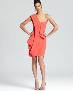 dream bmaid dress Shoshanna One Shoulder Dress - Mackenzie | Bloomingdale's