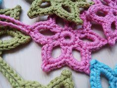 Ilona's blog: Star crochet pattern, crochet star pattern